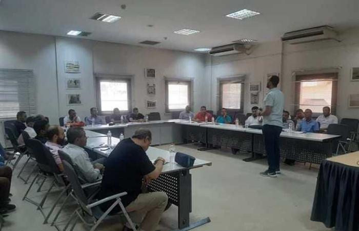 تدريب العاملين بشركات البالون على نظام «إدارة السلامة» بمكتبة مصر العامة بالأقصر