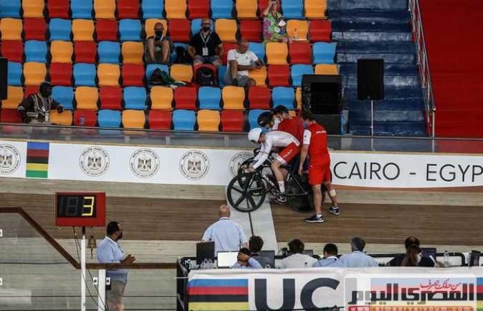 إيطاليا تحصد ذهبية سباق الإقصاء ببطولة العالم للدراجات بالقاهرة