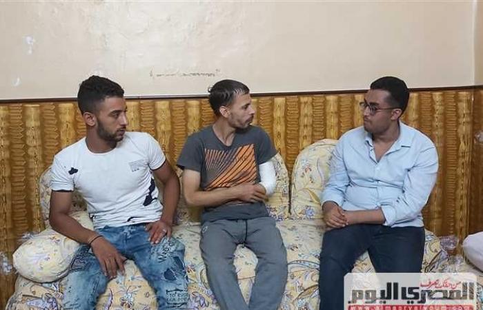 جزار شاب يقتل ابن عم والده في كرداسة بسبب 40 جنيهًا (فيديو)