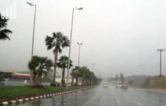 """يوم ماطر في عسير.. و""""الأرصاد"""": تؤدي إلى تساقط البَرَد وجريان السيول"""