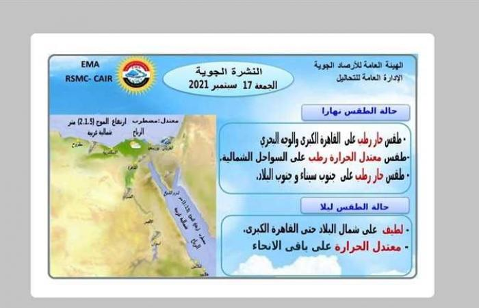 طقس لطيف الحرارة بشمال سيناء