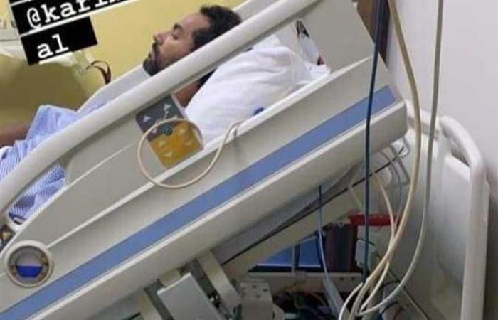 أزمة صحية مفاجئة للفنان كريم فهمي ونقله إلى المستشفى (تفاصيل)