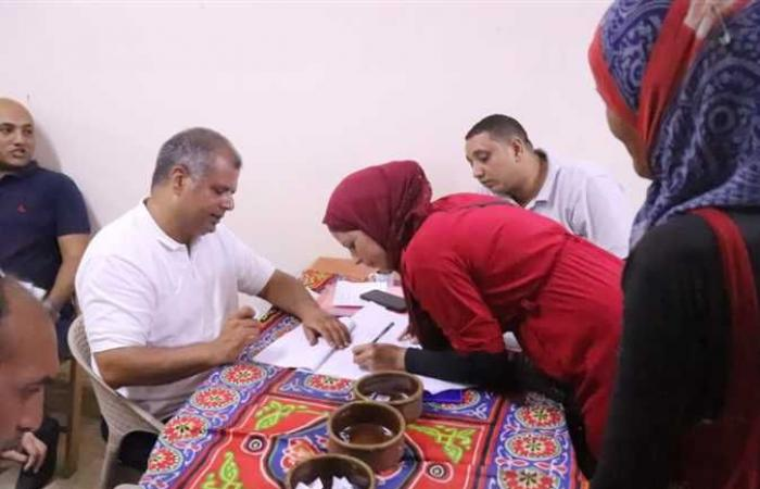 الجيزة : تسكين 656 أسرة من أهالي سن العجوز بالهرم