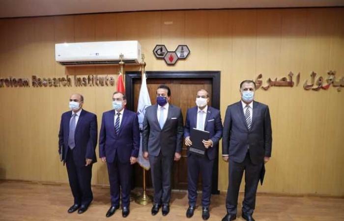 لإكسابهم الخبرة لتشغيل مواقع الإنتاج.. تعاون بين جامعة القاهرة التكنولوجية وبحوث البترول