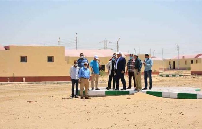 الانتهاء من توصيل المرافق للقرية الثانية من مشروع الجذب السكاني في الوادي الجديد
