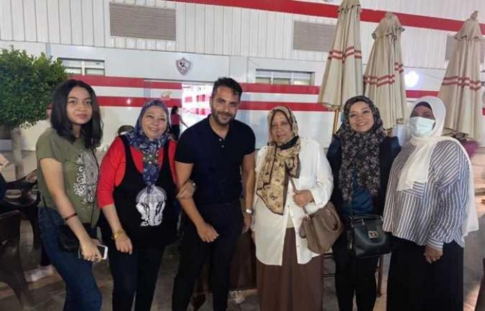 أحمد زادة يجتمع بأعضاء الزمالك ويعد بحل أزمة الألعاب الجماعية