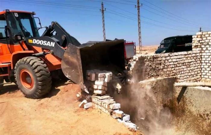 شعراوي: إزالة مليون و 776 ألف م٢ تعدي أملاك الدولة خلال 10 أيام (صور)