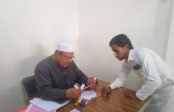 تسجيل 16 حالة تصادق علي الزواج و94 ساقط قيد بوسط سيناء