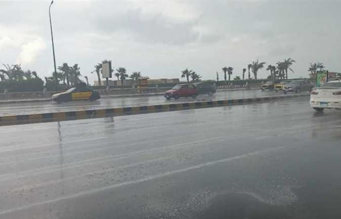 أمطار متوسطة وانخفاض في درجة الحرارة بشمال سيناء