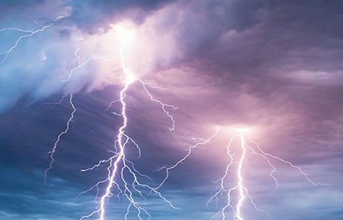 """""""الأرصاد"""": أمطار رعدية متوسطة على مرتفعات جازان وعسير والباحة ومكة"""