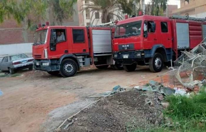مصرع عامل في انفجار أسطوانة بوتاجاز بسوهاج