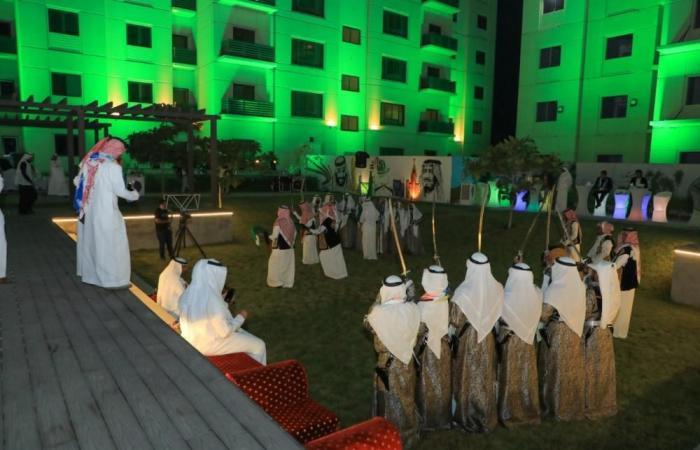 جدة تحتضن فعالية دارنا عمارنا احتفالا باليوم الوطني السعودي 91