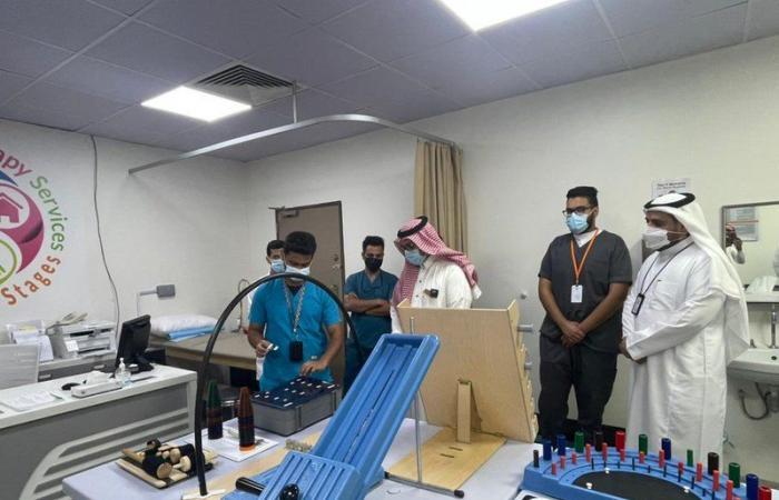 افتتاح عيادة إصابات رياضية وتأهيل طبي بقسم العلاج بتخصصي الطائف