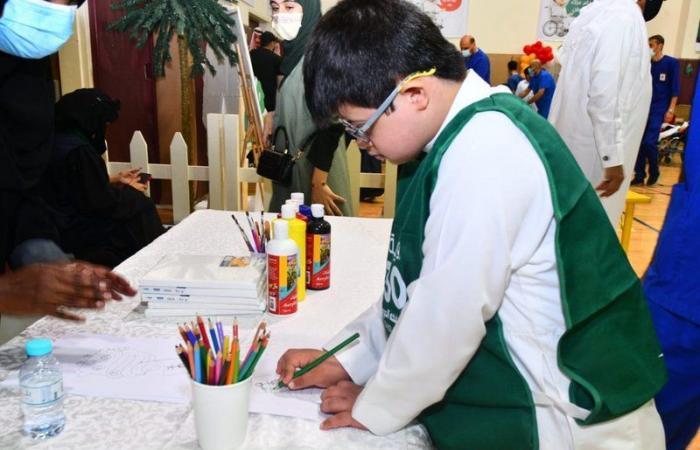 """بالصور.. """"إيفاء"""" لرعاية ذوي الإعاقة تحتفل باليوم الوطني ٩١"""