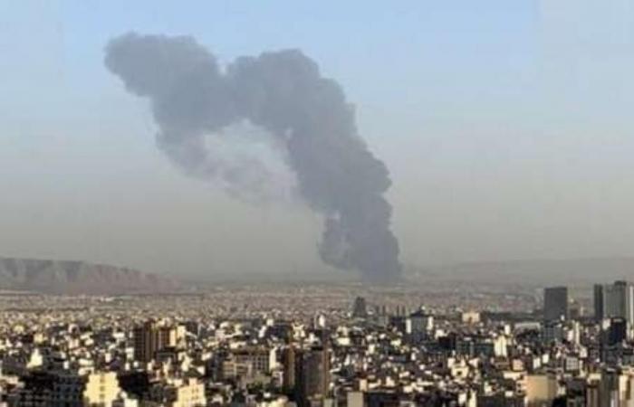 حريق يقتل اثنين من الحرس الثوري الإيراني