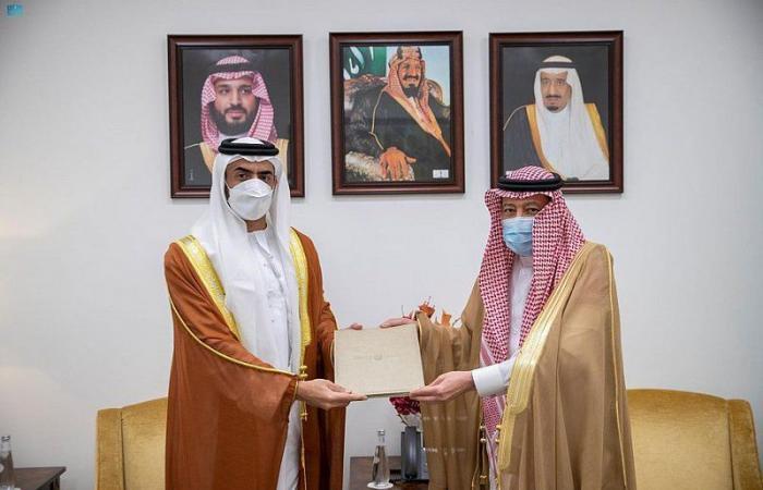 """وزير الخارجية يتلقى دعوة من نظيره الإماراتي لحضور منتدى """"صير بني ياس"""""""