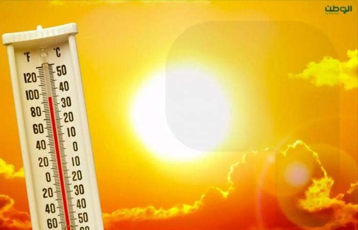 رياح نشطة وانفخاض للحرارة على شرق ووسط المملكة