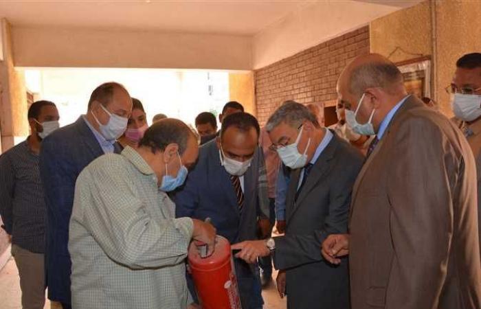 محافظ المنيا يوافق على تخصيص قطعة أرض لإقامة مركز شباب النويرات ضمن «حياة كريمة»