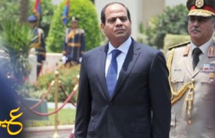 الرئيس السيسى يطلق إشارة البدء لتنفيذ محور قناة السويس