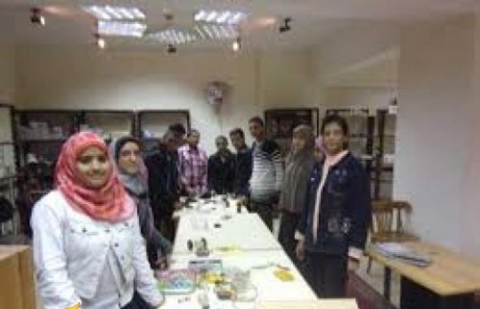 تكريم الفائزين في مؤتمر رابطة مخترعي مصر بجامعة بني سويف
