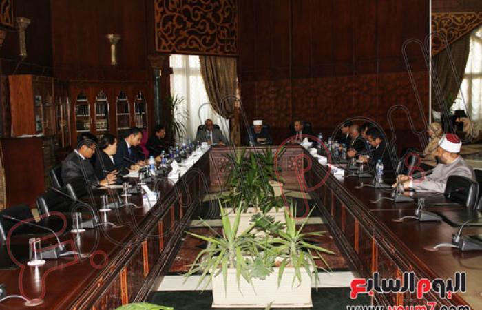 الإمام الأكبر يبحث وسفراء دول الآسيان احتياجات الطلاب الوافدين