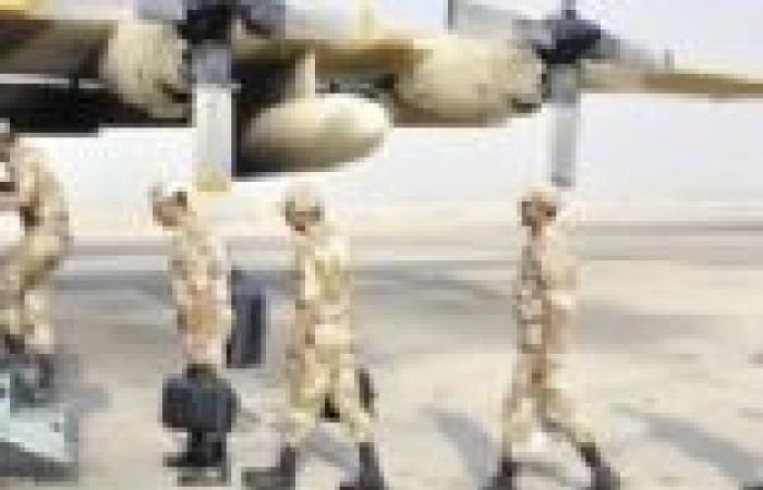 """الجيشان المصري والسعودي يواصلان تنفيذ المناورة """"تبوك 3"""""""