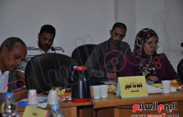 بالصور.. افتتاح المؤتمر الثالث عشر للعاملين بالجامعات المصرية