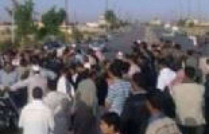 قطع طريق مصر- أسوان احتجاجا على اختطاف ربة منزل بقنا