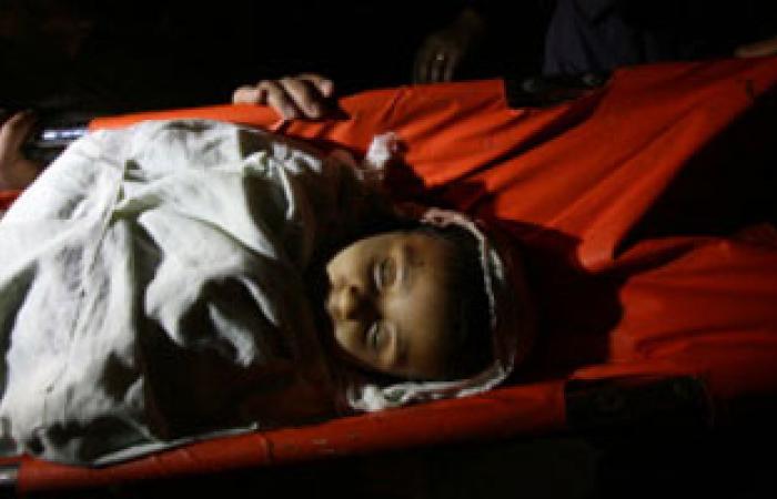 طفل فلسطينى يصاب بشلل نصفى بعد إصابته برصاص الجيش الإسرائيلى