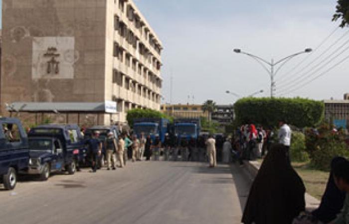 إضراب محضر بمحكمة قلين الجزئية عن الطعام لنقله تعسفياً