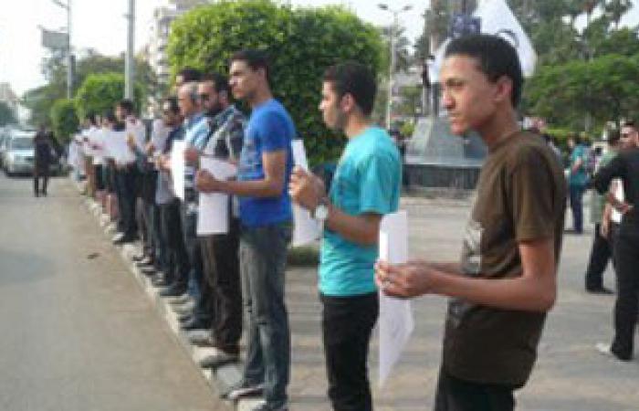 """""""6 إبريل"""" تشارك اليوم فى سلسلة بشرية للإفراج عن المعتقلين"""