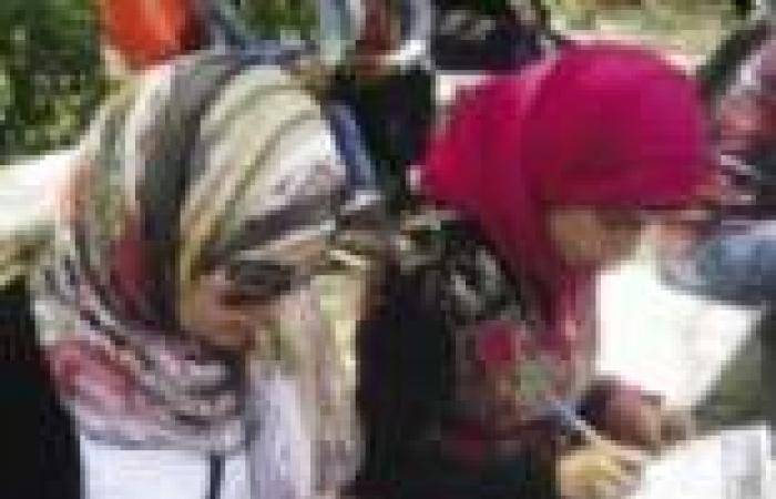 """لجنة المرأة بـ""""جبهة الإنقاذ"""" تجمع مئات التوقيعات لحملة """"تمرد"""" من قرى ونجوع المنيا"""