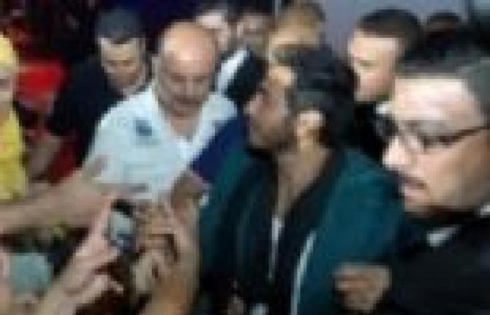 بالصور| 1500 متفرج في حفل تامر حسني بدبي