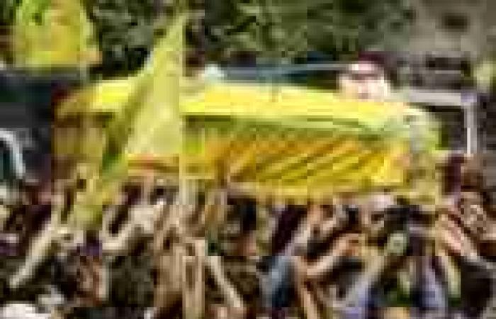 حزب الله يشيع أحد قتلاه في الضاحية الجنوبية