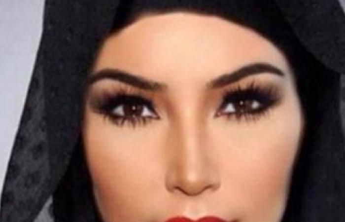 Kim Kardashian... محجبة