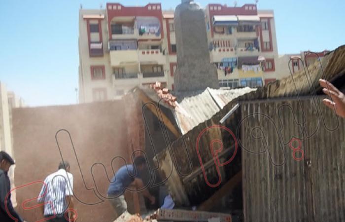 حملة إشغالات مكبرة ببورسعيد تستهدف الأكشاك والإشغالات بحى الضواحى