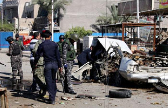 مقتل شخص وإصابة 9 آخرين فى انفجار ببغداد