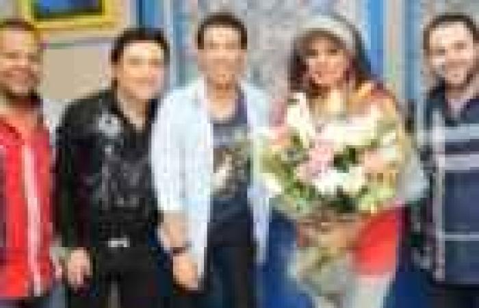 """فيفي عبده مع سعد الصغير في برنامج """"المولد"""""""