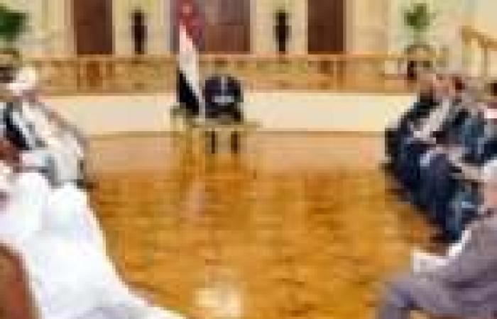 """مرسي يلتقي قيادات الهيئات الإسلامية ويشدد على أهمية """"الاصطفاف الوطني"""""""