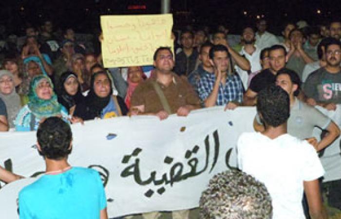 """العاملون بشركة """" TVI EXPRESS """" ينهون وقفتهم الاحتجاجية أمام ماسبيرو"""