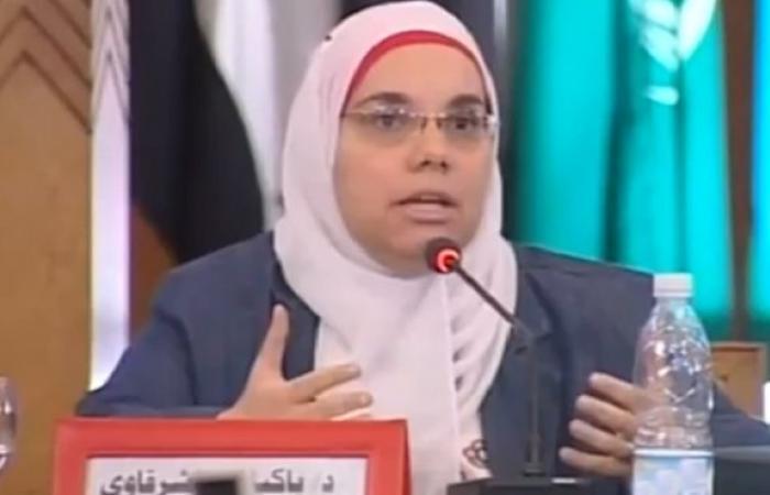 باكينام الشرقاوي: الرئاسة تحترم أسباب رفض بعض الأحزاب حضور الاجتماع