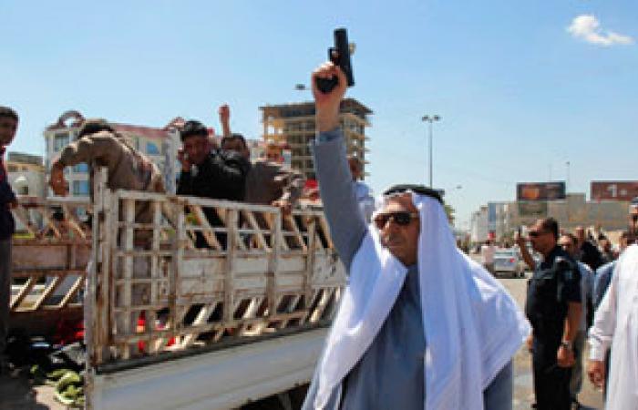 """مسئول عراقى يؤكد: لم يصدر قرار بإطلاق النار على متظاهرى """"الحويجة"""""""