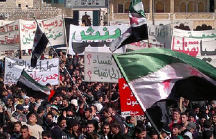 تواصل الاشتباكات العنيفة بين الجيش السورى والمعارضة المسلحة فى ريف دمشق