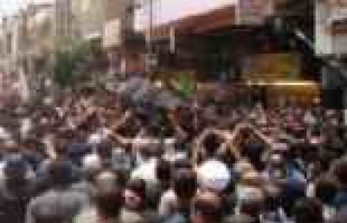 تشييع جثمان مرافق قيادي بالتيار الصدري شمالي بغداد