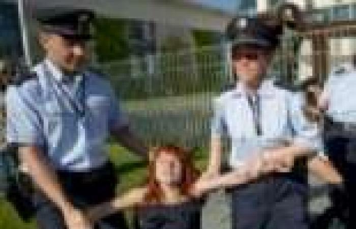 """الشرطة الألمانية تعتقل ناشطات من """"فيمن"""""""
