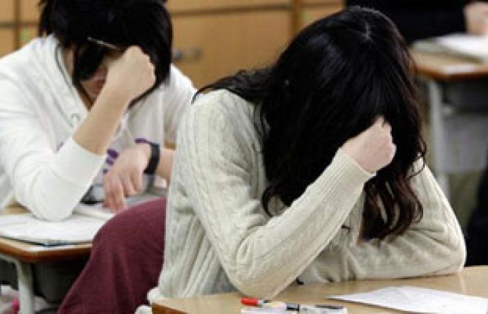 قلق وتوتر الامتحانات يواجه بالتغذية السليمة