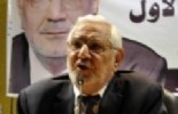 حزب «أبوالفتوح» يقدم «مبادرة خماسية» للخروج من الأزمة