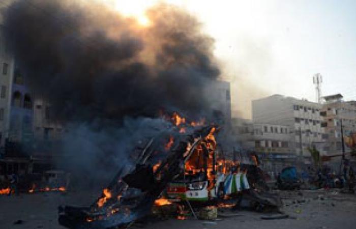 انفجار فى حى النزهة بحمص