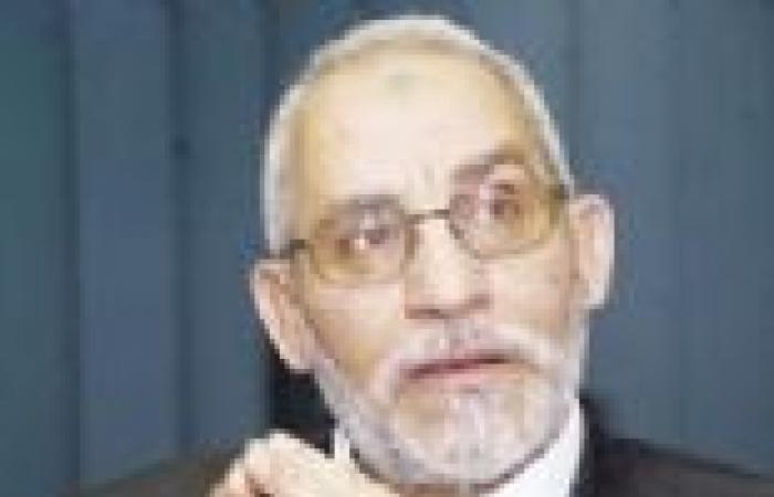 «الإرشاد» يتأهب لـ«30 يونيو»: «بديع» يجتمع بمسئولى المحافظات لبحث مواجهة «تمرد».. ويخصص حجرة بالمقر لـ«الشرطة»