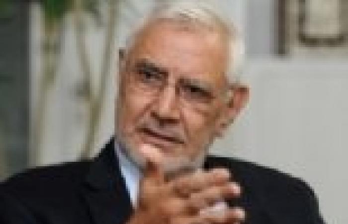 """أبو الفتوح يبدأ إجراءات استكمال المكتب السياسي لـ""""مصر القوية"""""""